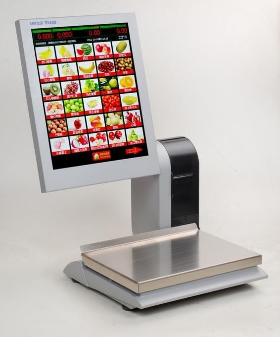 梅特勒-托利多高端iSmart-E自助服务秤条码打印串口秤