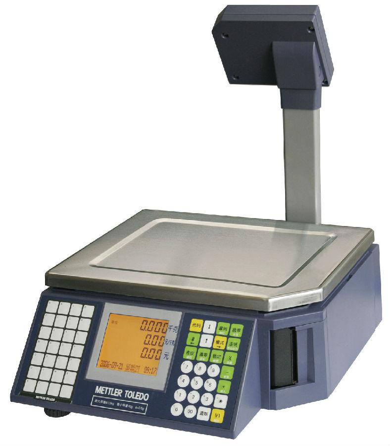 梅特勒-托利多RL00-3880E+条码电子秤 无线联网秤
