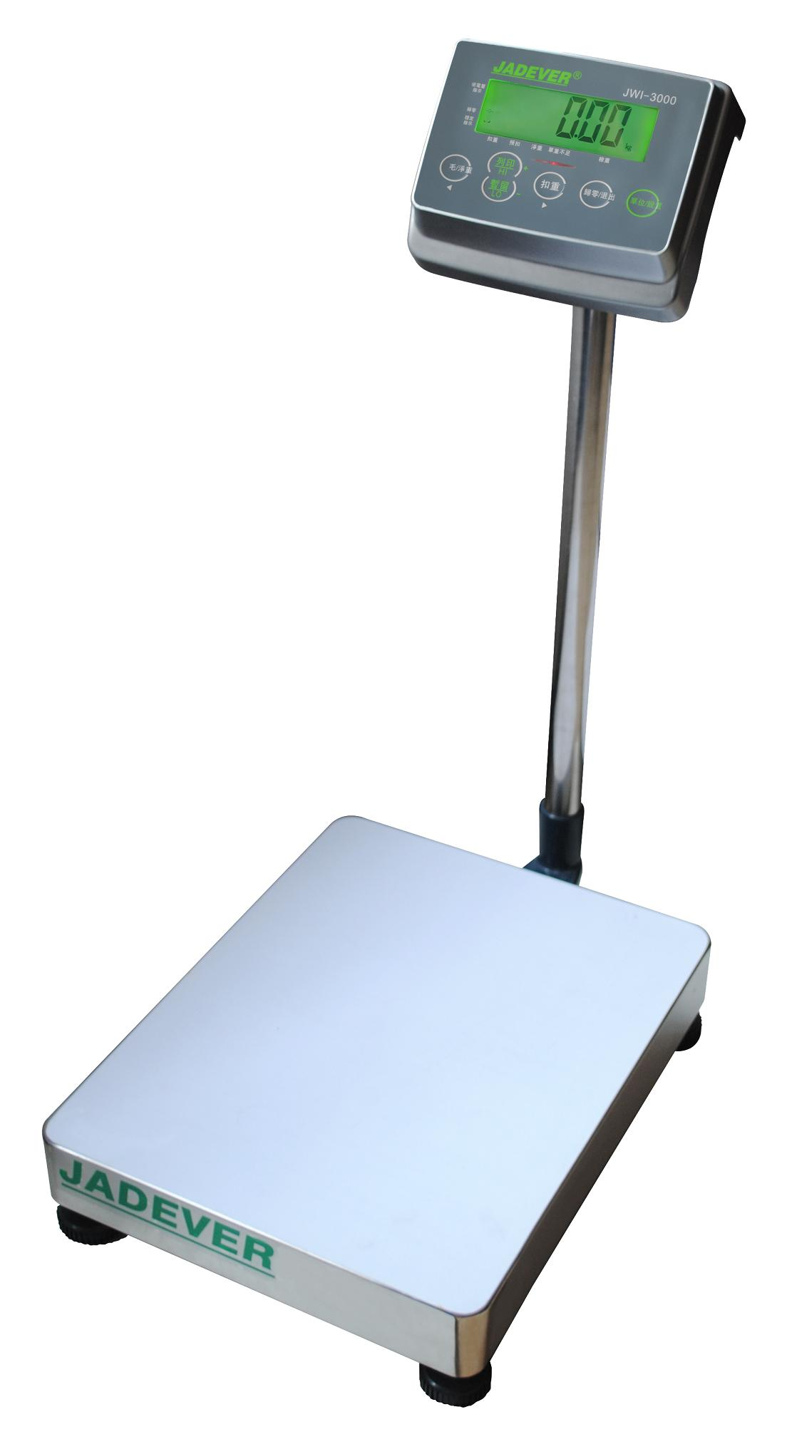 JADEVER杰特沃JPS(JWI-3000)计重电子台秤