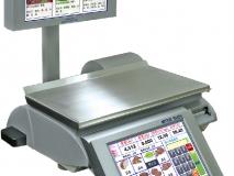 梅特勒-托利多PC智能秤iSmart-P条码打印串口电子收银秤 可触摸显示屏秤