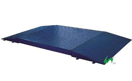 上海常衡方便物体自由移动 安装简便 高精度传感器 稳定性高  双斜坡小地磅