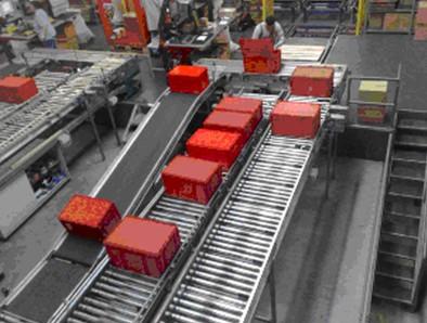 上海常衡在线辊道自动分选物流秤 称重机 防止不合格产品出厂