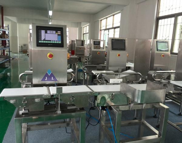 上海常衡奶茶自动分选秤 牛奶自动检测机 奶茶重量自动筛选秤 皮带筛选机