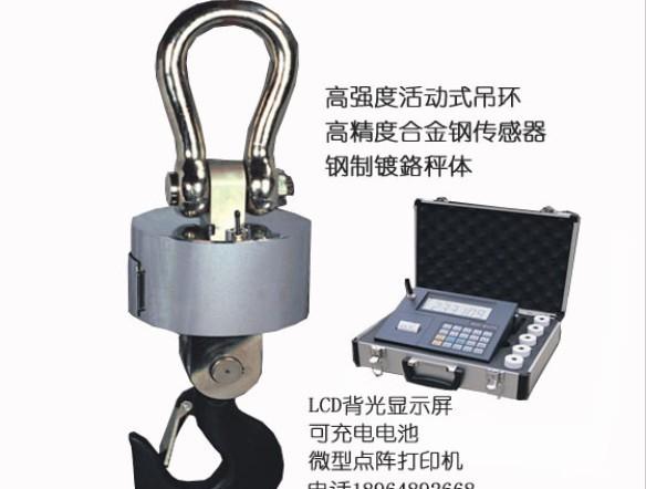 上海常衡PCA765高能效免维护 免充电无线电子吊秤 钩钩秤