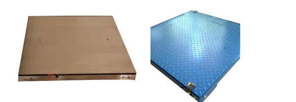 上海常衡平板花纹板台面 不锈钢超低台面电子平台秤