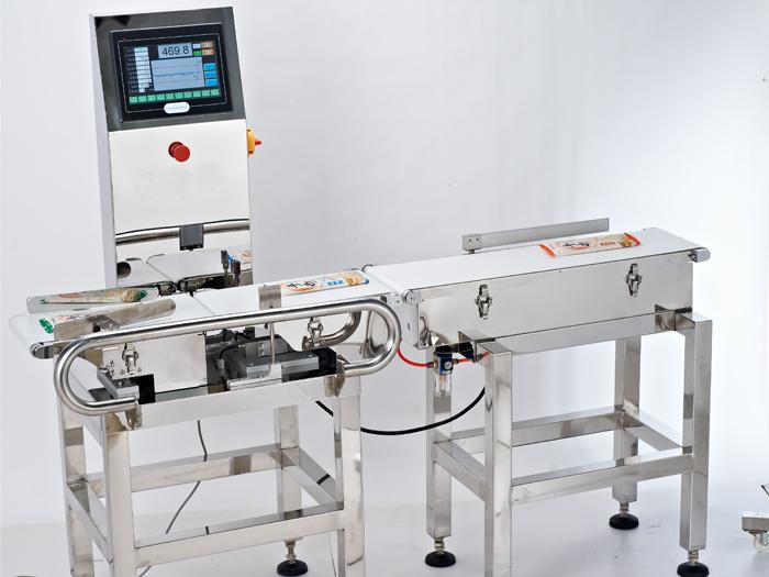 上海常衡JLW-06 食品在线检重秤 重量检测机 自动检重秤 重量选别机