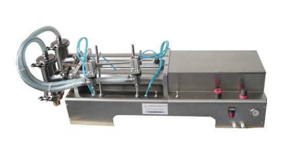 上海常衡DY/SYF 精度高 设计合理 操作简单 防滴漏 防拉丝液体灌装机