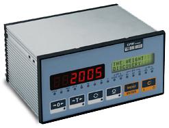 常衡CPW 可以控制配料 存储数据 打印结果 防水按键 快加慢加 称重显示器