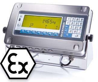 上海常衡 ST-Ex 可配料计数 控制 耐腐蚀灰尘 防水防爆 称重终端