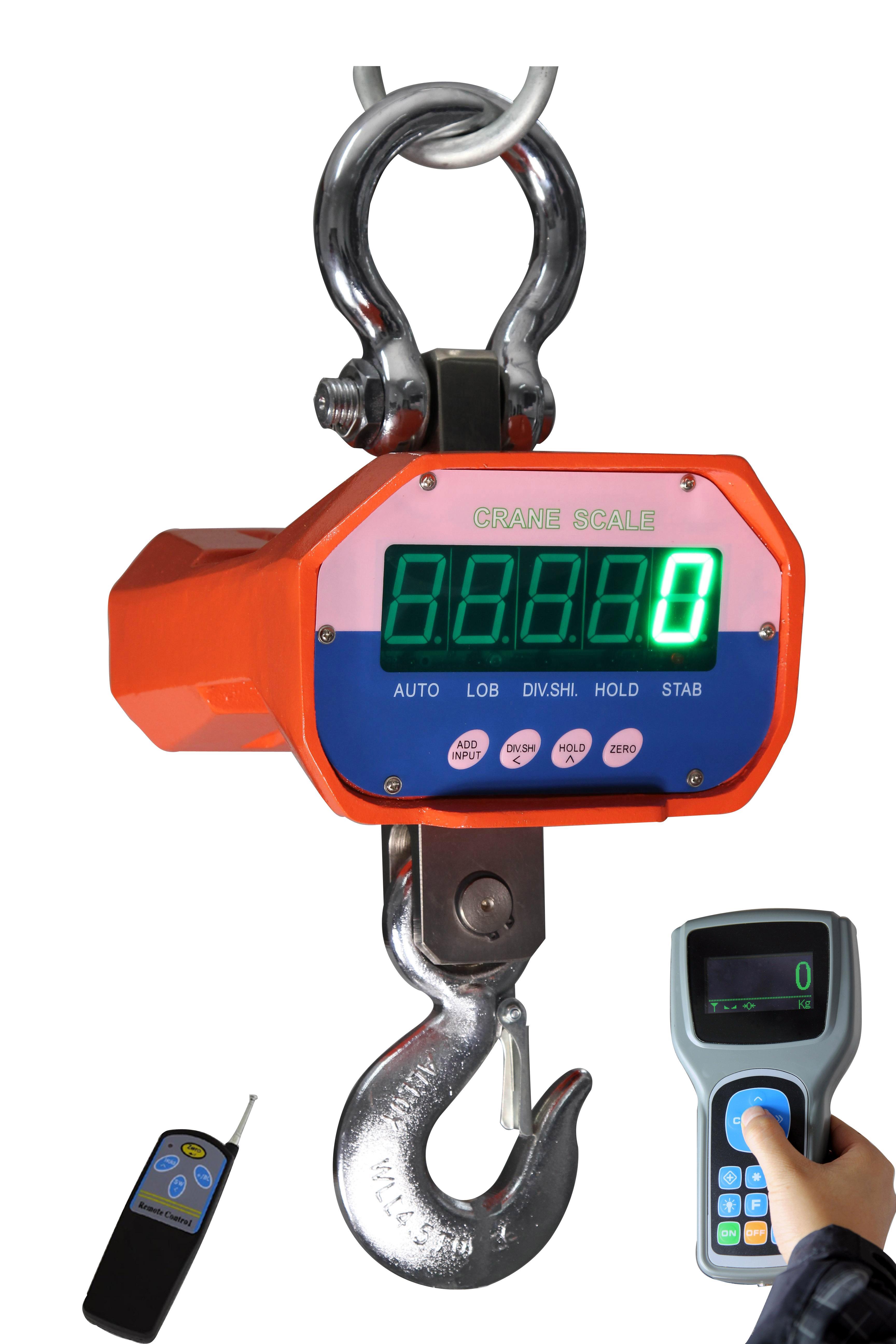 上海常衡CCE(g)PII 一体式传感器设计 铝合金外壳,轻便坚固 无线遥转电子吊秤