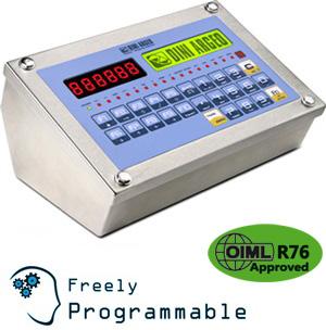 狄纳乔3590EXT 不锈钢 防水按键  工业专用IP68 称重显示器
