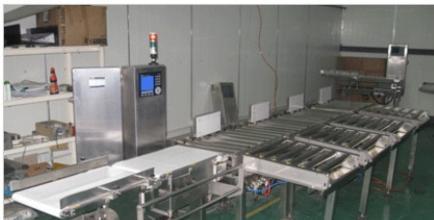 上海常衡饮料自动检重秤 分选秤 重量检测机 滚筒重量检测器