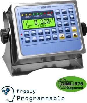 狄纳乔CPWETF 防水按键 显示清晰 工业用称重显示器