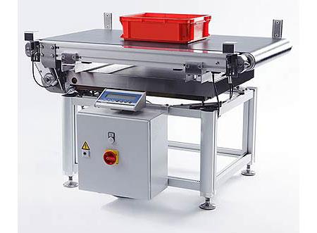 常衡CH-CWL 结构灵活 可集成体积测量系统 兼容贴标系统 不锈钢材质 动态检重秤