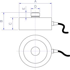 上海常衡可提供 狄纳乔CP系列轮辐式传感器 不锈钢材质 小巧耐用 灵敏度高
