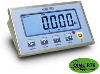 狄纳乔DFWLID 操作简单 防水按键 三段显示 不锈钢数字 称重显示器