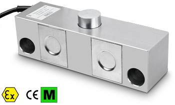 上海常衡提供 狄纳乔DSBI系列不锈钢双剪切梁传感器 不锈钢 料仓配料