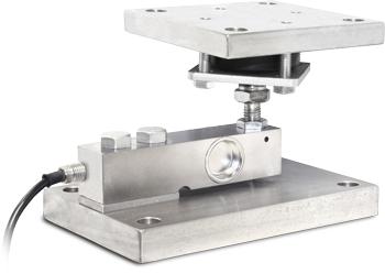 意大利狄纳乔 KSBN2 单剪切梁传感器安装模块 碳钢镀锌结构 球形接头