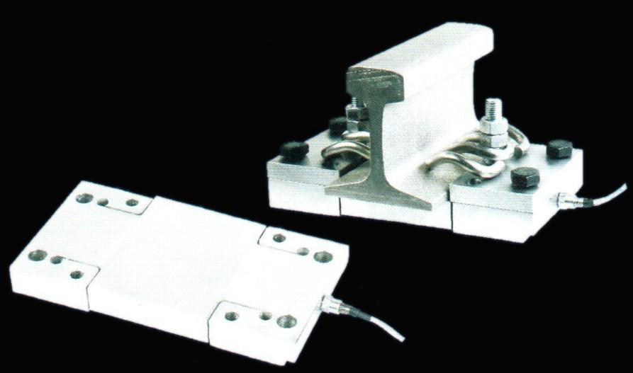 上海常衡 RWIN-2 合金钢轨道衡传感器 密封性能好 各种轨道使用