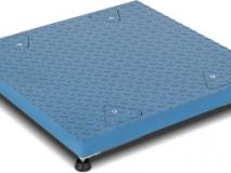 狄纳乔ECEM1B 秤架钢材结构 尺寸量程可定制 6芯连接电缆 单层电子地磅