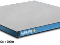 供应狄纳乔 配4只不锈钢传感器 秤架蓝色喷漆刚 双层地磅