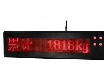 上海常衡 大屏幕 各国文字定制 无线称重 传输距离大 电子吊秤