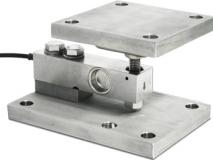 上海常衡供应 狄纳乔KSB2单剪切梁传感器安装模块 不锈钢材质