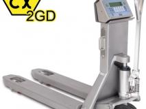 狄纳乔TPWX2GD 可打印 重量累计 防爆手动搬运车秤