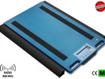 狄纳乔WWSERF 方便携带 结构坚固 内置称重仪表 无线汽车轴重秤