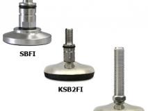 上海常衡提供 SBFI传感器支脚 不锈钢材质 防震弹性接头