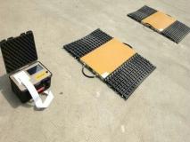 常衡提供 便携式轴重秤 工业企业 煤场 料场 冶金 城建 公路建设