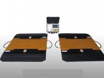 常衡 CHZ-B930 无线便携式轴重仪 车辆超载检测仪 汽车称重仪 无线传输