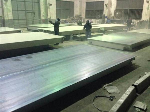 上海常衡 出口型电子汽车衡 适合20 40英寸 高柜 集装箱运输 安装方便