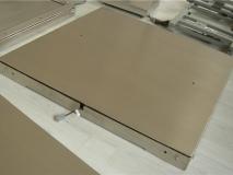 上海常衡 不锈钢电子地上衡 低秤台设计 限位一次成型 无需调节