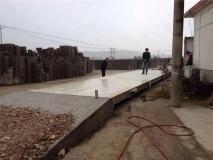 上海常衡 混凝土台面电子汽车衡 防腐能力强 抗雷击 防锈 使用寿命长 质量稳定