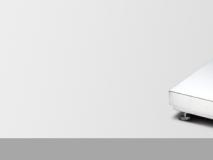韩国凯士 CAS SPS6070  SPS7080 铁秤台 不锈钢秤面 工业平台秤