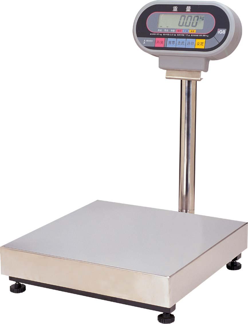 日本石田IGB工业电子台秤  IGB 配有液晶显示器台秤 常衡供应产品