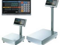 日本石田IWQ工业电子台秤   大型高清 荧光显示屏台秤