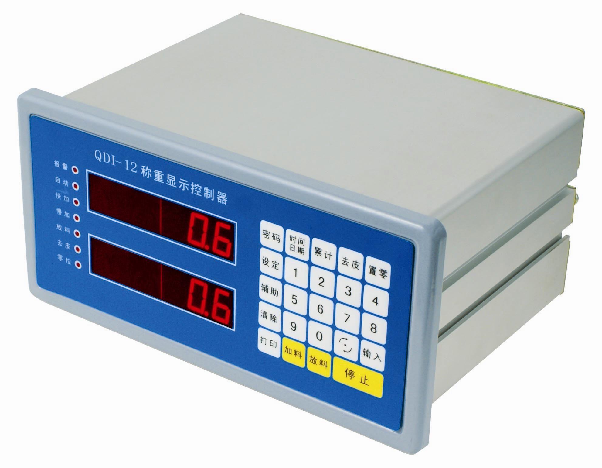 上海秋毫衡器 QDI-12 定值包装 配料场合 称重控制显示器 控制表