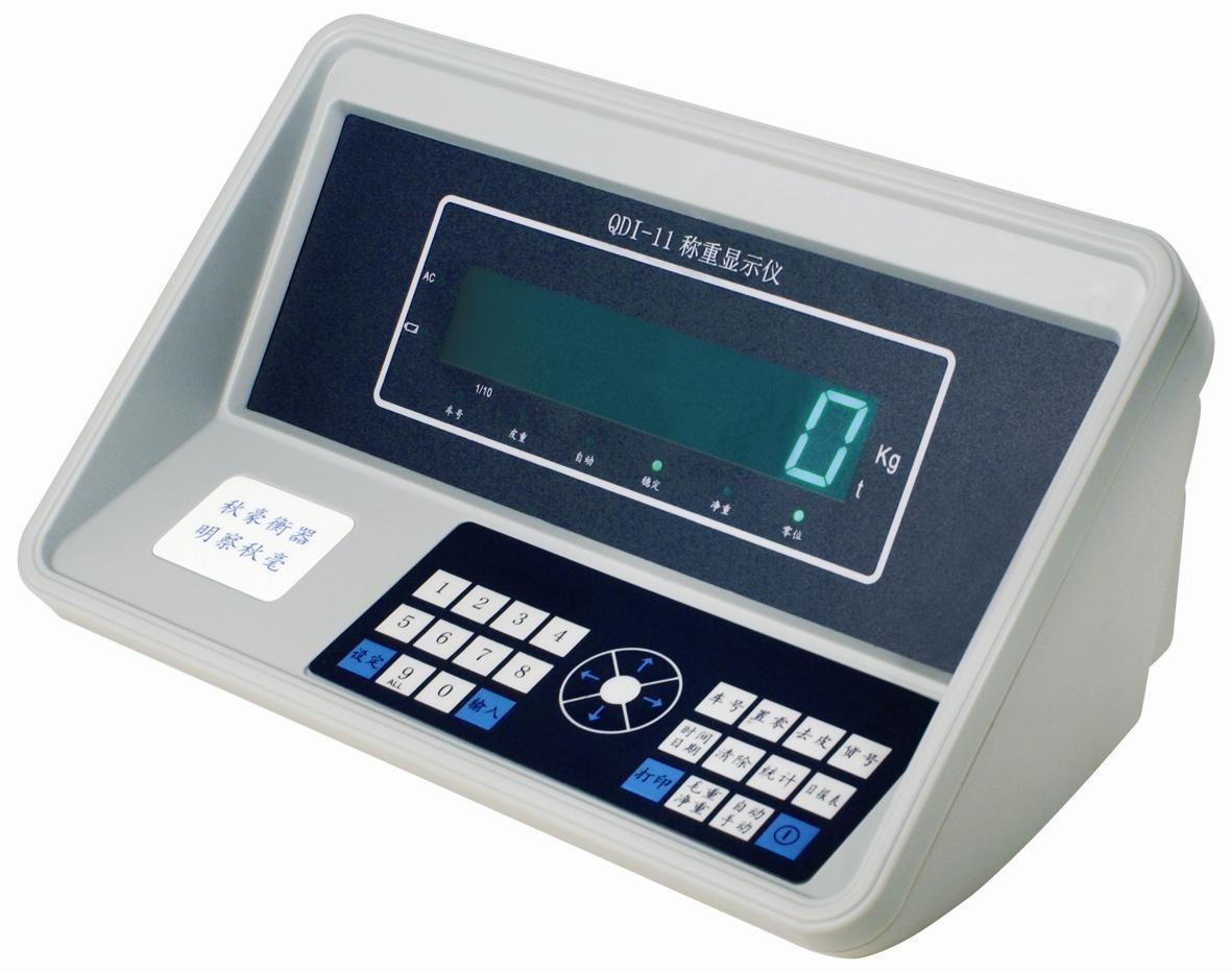 上海秋毫衡器 QDI-11JB 电子汽车衡 数字称重显示器 操作简单
