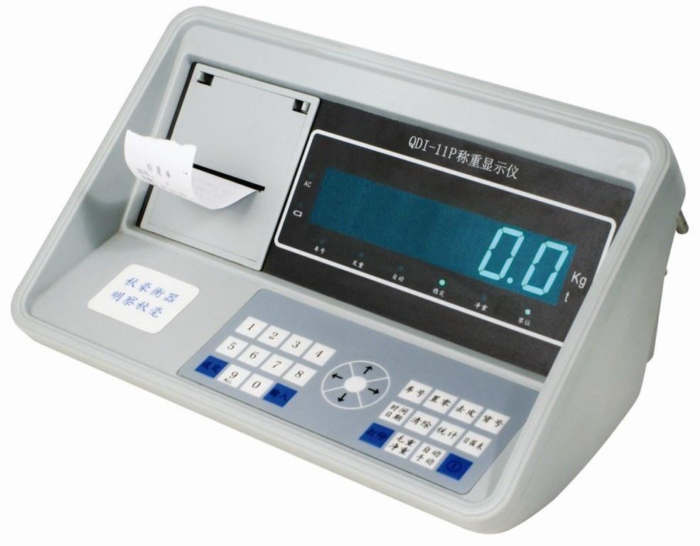 上海秋毫衡器 QDI-11P 汽车衡 地上衡 带维打 称重显示器 数字表