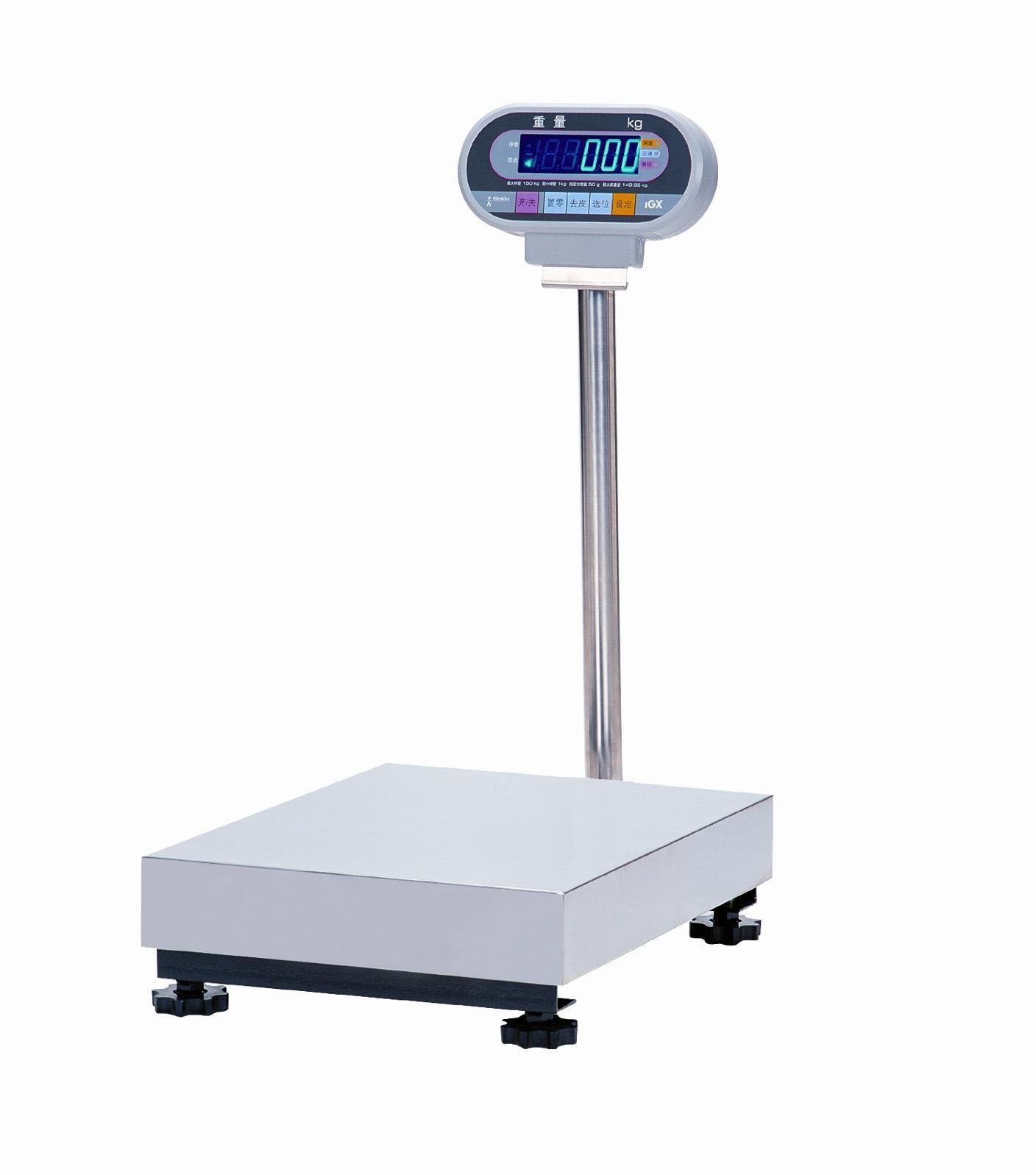 石田ISHIDA IGX-150KG 荧光显示屏 可保存皮重 食品加工 电子台秤