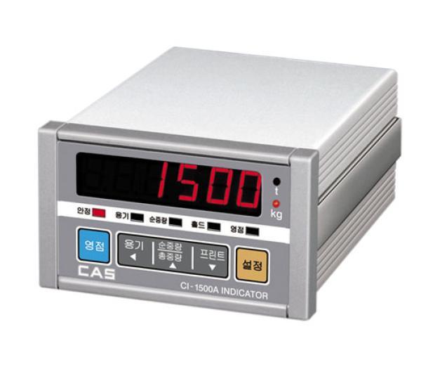 韩国凯士 CAS CI-1500 平台秤 工厂 化工 称重显示仪表 控制器
