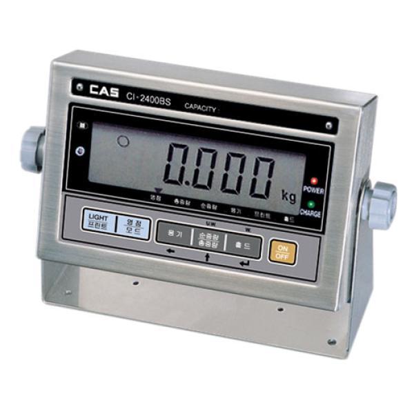 韩国凯士 CAS CI-2400BS 限位秤 计数秤 平台秤 防水称重显示器