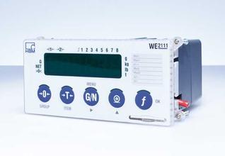 德国 HBM WE2111 现代工业 汽车衡 贸易秤 无线网络 称重仪表